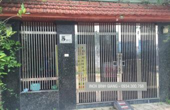 Cổng inox hải phòng