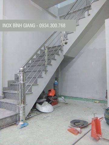 Cầu thang inox hải phòng